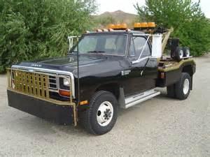 Used Power Wheels Truck For Sale Buy Used 1985 Dodge W350 Power Ram 4x4 440 Wrecker