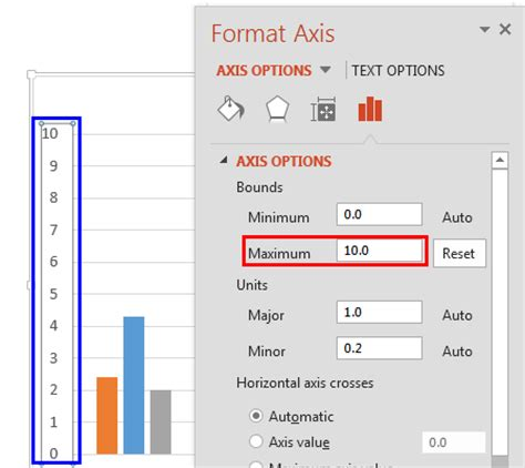 excel format vertical axis changing axis labels in powerpoint 2013 for windows