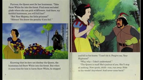 snow white book report snow white and the seven dwarfs disney read along book