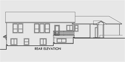house plans angled garage walkout basement house plan great room angled garage