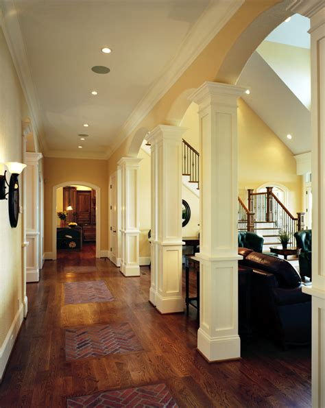 decorative columns  millwork  enhance  home
