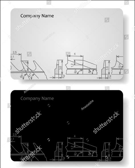 engineering business cards templates 25 engineer business card templates psd ai eps format