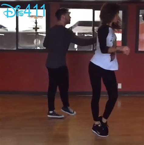 zendaya and val 2014 video zendaya val chmerkovskiy getting ready for quot sway