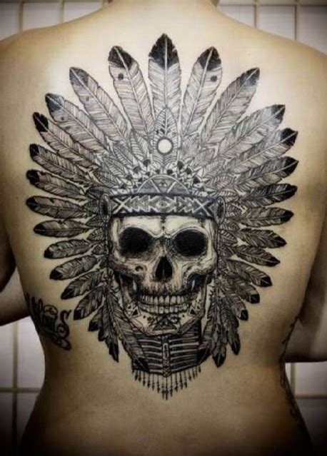 indian skull tattoo meaning tattoo collections