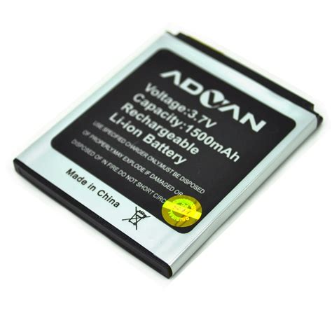 Baterai Battery Advan S4j Battery For Advan Mobile 1500mah S4j Jakartanotebook