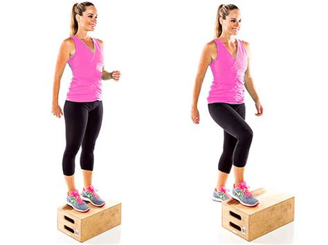 high bench step ups 10 of the best strengthening exercises for knee pain