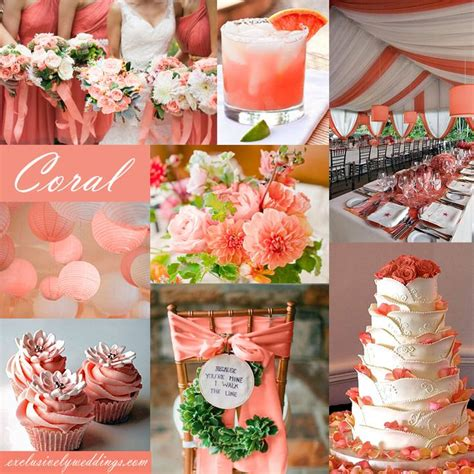 best 25 coral wedding colors ideas on