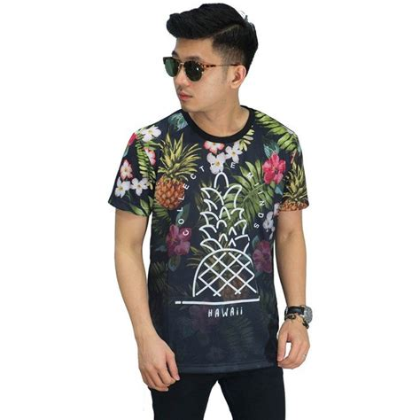 Kaos 116 Hawaii Size L kaos printing hawaii tropical kaos pria