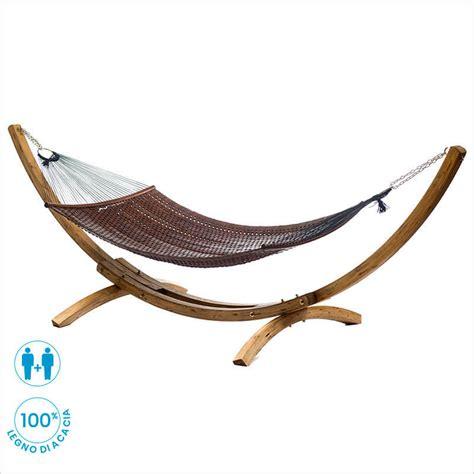 amaca legno amaca in legno con supporto in legno d abete ginestre