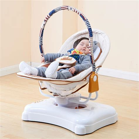 Automatic Rocking Chair by Electric Baby Cradle Automatic Baby Rocking Chair With Roller