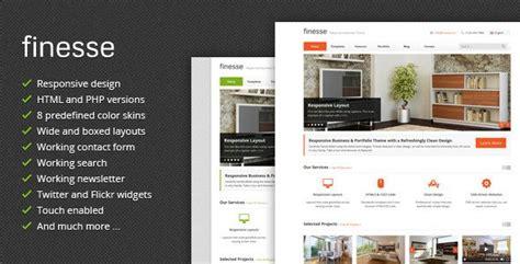 themeforest html templates responsive free download finesse v2 9 responsive business html template free