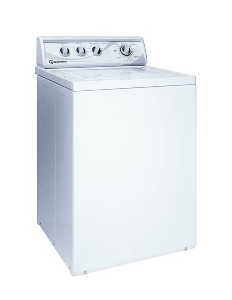 Speed Queen White Commercial Top Load Washer Awn542 Abt