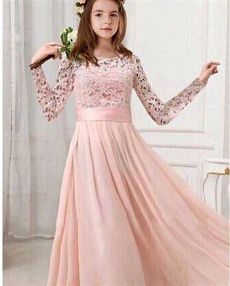 imej baju kanak kanak colour braw butik qaireen dress lace kanak kanak color peach all