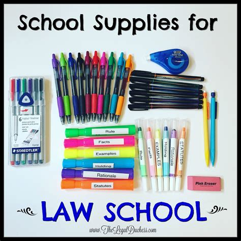 supplies for a my must school supplies for school the duchess