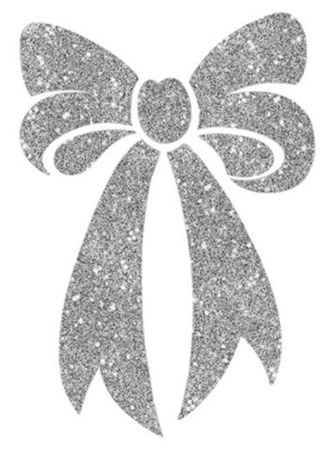 silver bow glitter tattooforaweek temporary tattoos