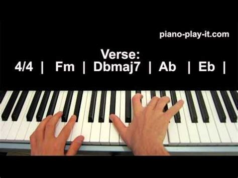 tutorial piano john legend how to play all of me by john legend on piano doovi
