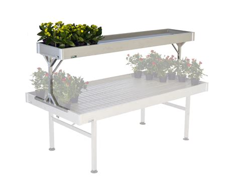 ebb and flow benches raised aluminum bench 63 97x119 29 inches ebb and flow