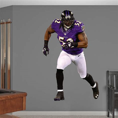 ray lewis bench shop baltimore ravens wall decals graphics fathead nfl