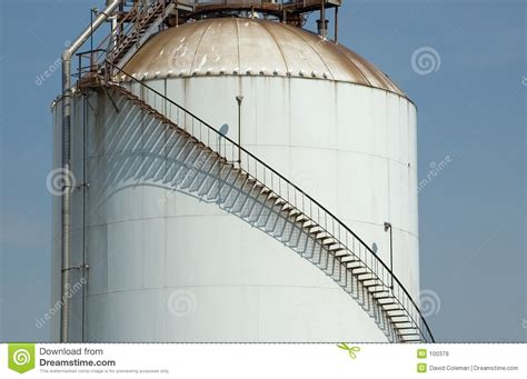 Stairway Storage stair on tank with shadow stock image image of industrial