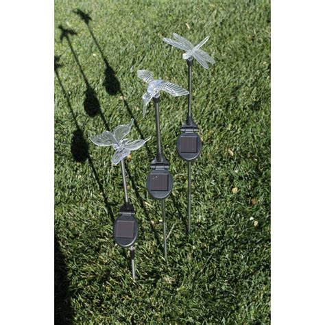 decorative solar light solar decorative led lights 3 pc