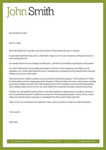 Cover Letters Cv by Cover Letter For Cv Vitae