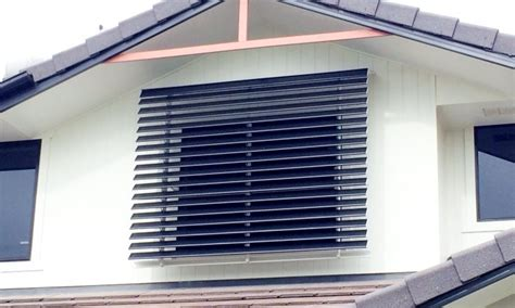 louvered fixed awnings metal