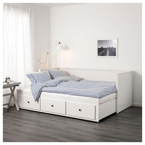 futon from ikea hemnes day bed frame with 3 drawers white 80 x 200 cm ikea