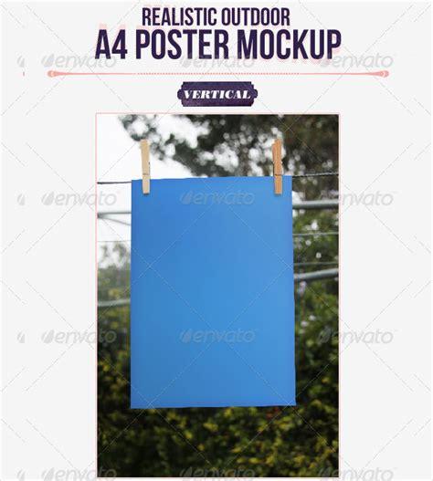 design poster a4 17 a4 poster mockups psd download design trends