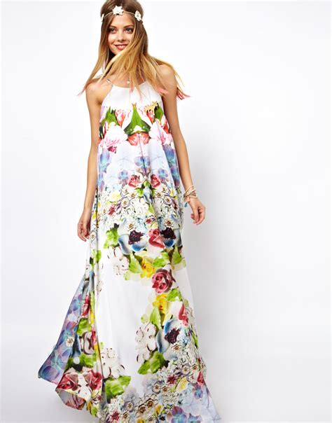 Flower Maxy asos salon floral print maxi dress where to buy how to