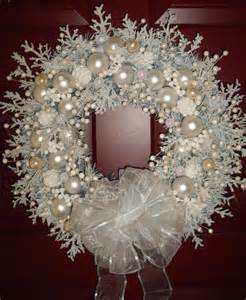 shabby chic wreaths snow white shabby cottage chic handmade wreath