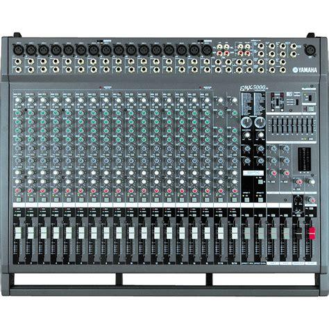 Power Mixer Yamaha Emx5000 yamaha emx5000 20 20 channel powered mixer music123