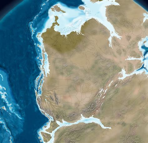 jurassic map america these maps show how america was formed 550