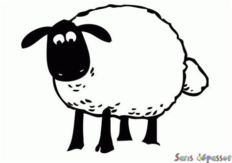 Coloriage Shaun Le Mouton Sans D 233 Passer
