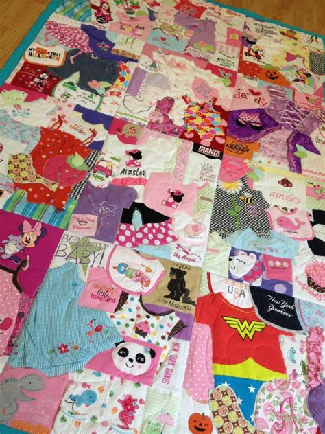 How To Make Patchwork Quilt From Baby Clothes - memory quilt baby clothes quilt memory blanket maybe