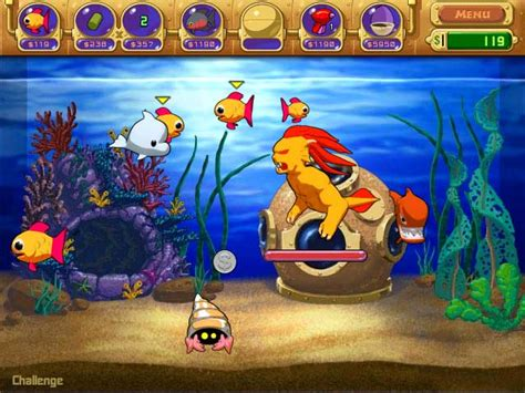 design your aquarium game insaniquarium insane aquarium game