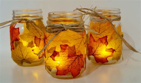 12 Cool Diy Jar Crafts To Welcome Fall Shelterness
