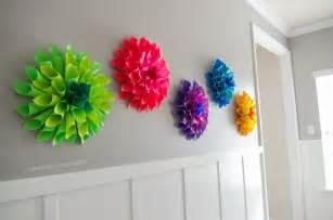 Paper Craft Home Decor craftaholics anonymous 174 rainbow paper dahlia flowers