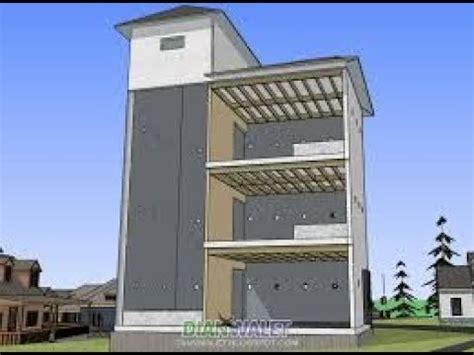 inilah desain gedung walet ukuran   lengkap youtube