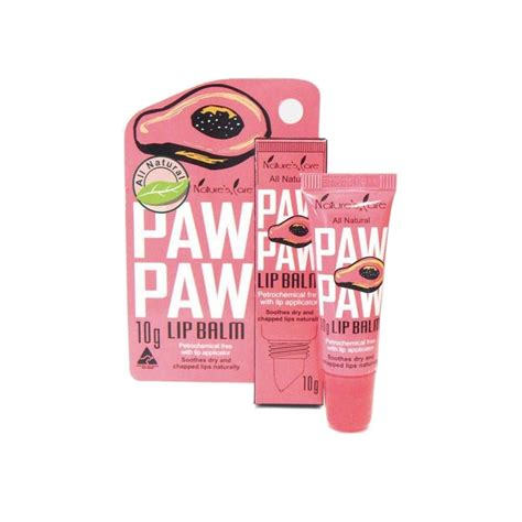 tattoo care paw paw ointment buy paw paw balm 10 g by natures care online priceline