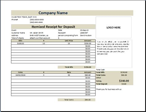 download itemized invoice template rabitah net