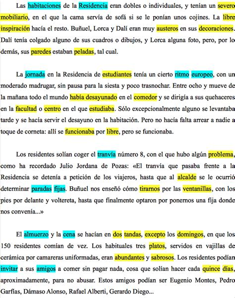 Resumen Y Textos Propios by C 243 Mo Calificar El Subrayado De Un Texto Con P 225 Rrafos