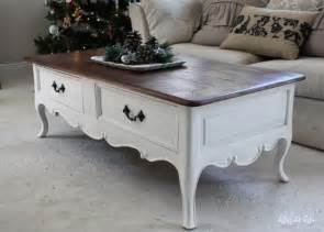 How To Paint Coffee Table White Painted Coffee Table Coffee Table Design Ideas