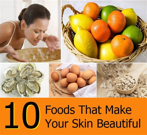 Foods That Make You Gorgeous by Top 10 Foods That Make Your Skin Beautiful Diy Home