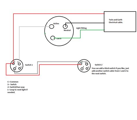wiring a 2 way light switch wiring free engine image for