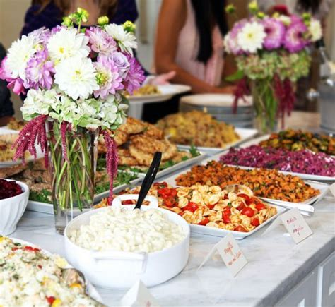 Bridal Shower Luncheon at home   Shower   Pinterest