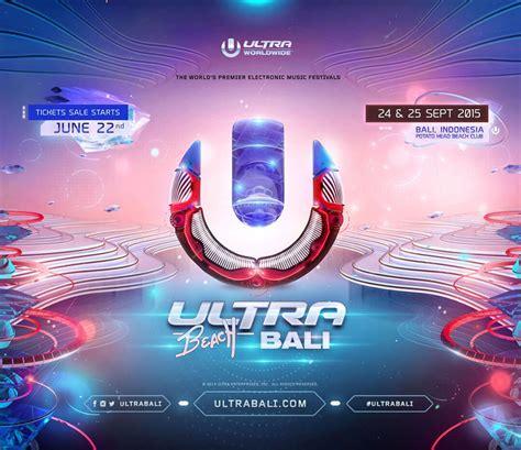 ultra beach bali announces  venue ticket details