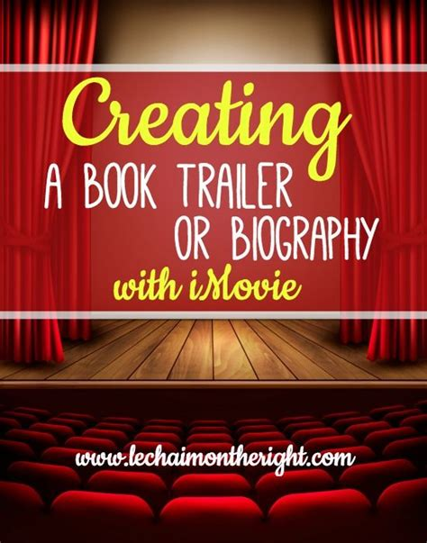 Biography Book Trailers   creating a biography or book trailer with imovie the two