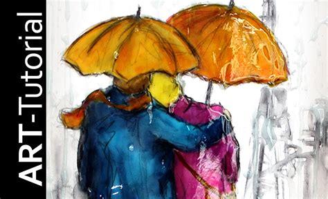 moderne figuren tutorial malen mit isabelle abstrakte figuren im regen auf