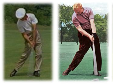 jack nicklaus iron swing impact position is this bad instruction and playing