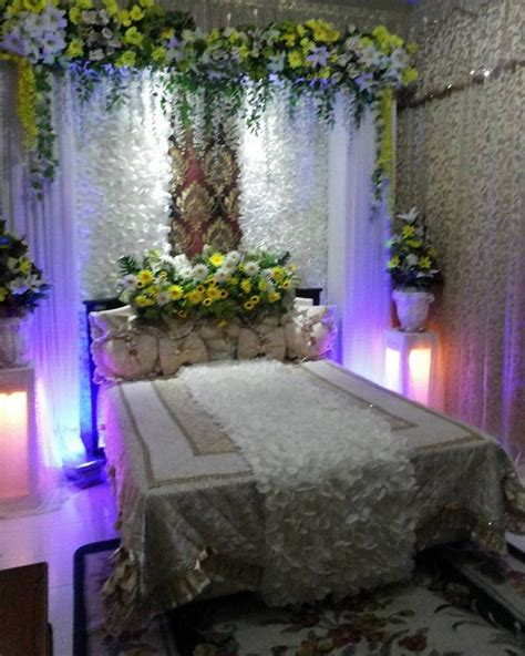 gambar kamar pengantin sederhana contoh gambar bunga